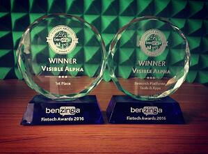 Benzinga Awards Visible Alpha